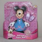 DISNEY MINNIE MOUSE DOLL BOW TIGUE STYLIN SNAP ON OUTFIT TOY BY FISHER PRICE