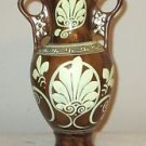 GREEK HANDMADE PORCELAIN VASE / URN