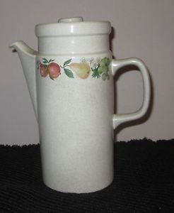 WEDGWOOD COFFEE POT QUINCE