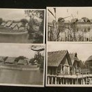 4 FREILICHTMUSEM UNTERUHLDINGEN, GERMANY POSTCARDS ERA 1950/60 UNUSED
