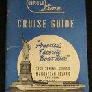 CIRCLE LINE CRUISE GUIDE SIGHTSEEING AROUND MANHATTAN BOOK