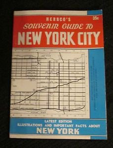 HERBCO'S GUIDE TO NEW YORK CITY BOOK 1952