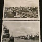 2 BREMEN, GERMANY POSTCARDS ERA 1950/60 UNUSED