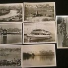 7 STARNBERG, GERMANY POSTCARDS ERA 1950/60 UNUSED