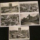 5 OBERHAUSEN, GERMANY POSTCARDS ERA 1950/60 UNUSED