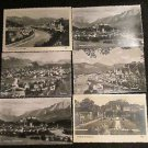 6 SALZBURG AUSTRIA POST CARDS ERA 1950/60 UNUSED
