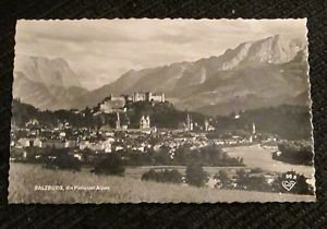 1 SALZBURG AUSTRIA POST CARDS ERA 1950/60 UNUSED