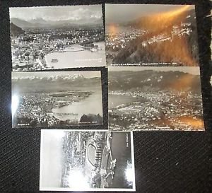 5 BREGENZ, GERMANY POSTCARDS ERA 1950/60 UNUSED