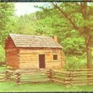 ABRAHAM LINCOLNS BOYHOOD HOME KNOB CREEK HODGENVILLE, KENTUCKY UNUSED POSTCARD