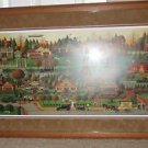 "CHARLES WYSOCKI ""LABOR DAY IN BUNGALOWVILLE"" #193/1250,  COA  FRAMED & MATTED"