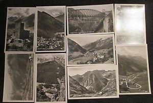 9 SILVRETTAVERING RUDOLF MATHIS LANDECK AUSTRIA POST CARDS ERA 1950/60 UNUSED