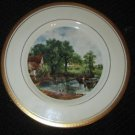 VINTAGE COLLECTIBLE PICKARD CHINA  GOLD HAND PAINTED DECORATED PLATE SENIC