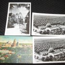 4  SAN ANTONIO, TEXAS POSTCARDS ERA 1950/60 UNUSED