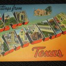 18 SAN ANTONIO, TEXAS  POSTCARDS ERA 1950/60 UNUSED
