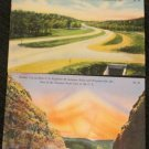 2 MISSOURI  POSTCARDS ERA 1950/60 UNUSED