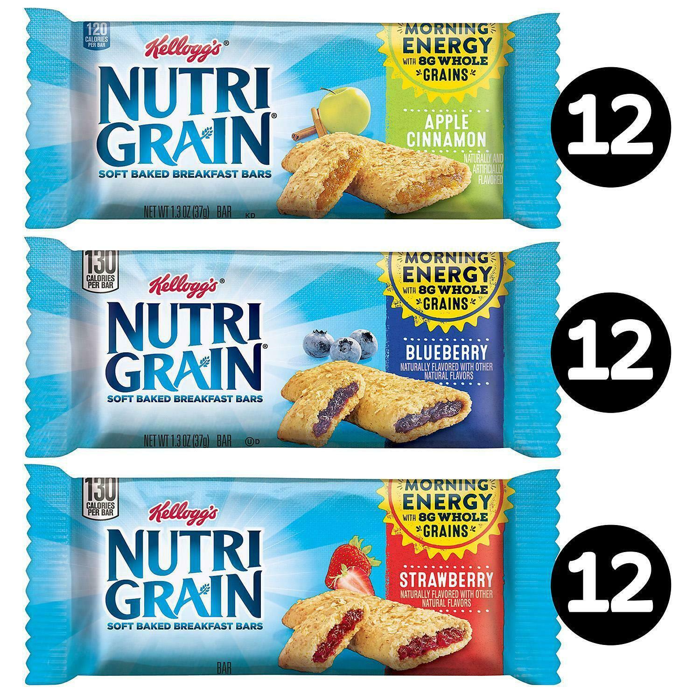 Crazy Food Dude: Review: Kelloggs Nutri-Grain Raspberry