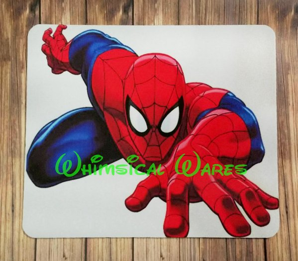 Spiderman Custom Mouse Pad Round or Square NEW