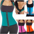 Women Sweat Waist Training Corset Cincher Slim Trainer Sauna Vest Hot Shaper