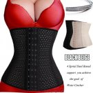 Waist Tummy Girdle 4 Spiral Boned Waist Trainer Body Shaper For Ladies Underbust Control Corset