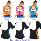 Hot Body Shapers Weight Loss T-shirt Hot Shapers Stretch Neoprene Slimming Vest