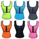 Neoprene Sauna Waist Trainer Vest Shaperwear Slimming Adjustable Sweat Shaper