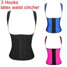 Women Slim Body Waist Cincher Rubber Shapers Waist Cincher Latex Waist corset