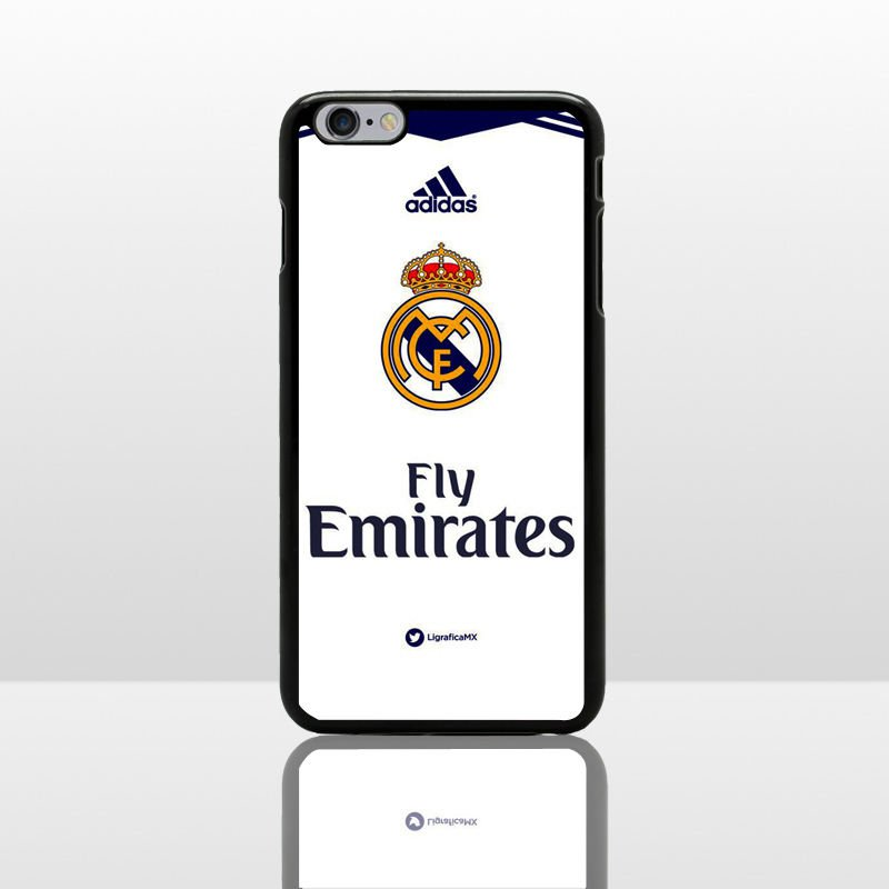 Real Madrid CF Football Jersey Phone Case Cover For iPhone 6s Plus