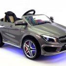 Mercedes CLA45 12V Kids Ride On Toy Car MP3 USB Battery Powered Wheels R/C Parental Remote | Grey