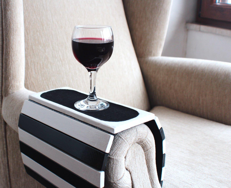 Sofa Tray Table Arm Armrest