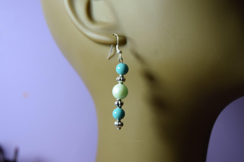 Light- green  earrings