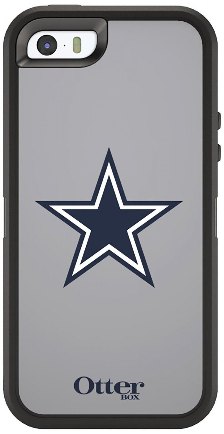 DALLAS COWBOYS NFL Series Case for Apple iPhone 5 / 5s / SE + Holster - New