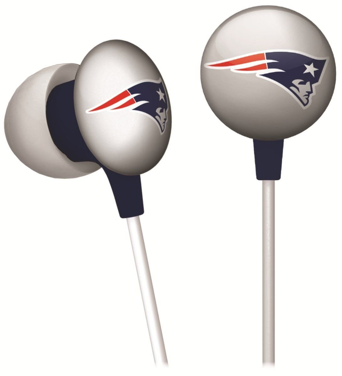 NEW ENGLAND PATRIOTS ear buds for steoreo