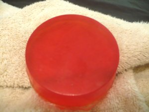 Orange Vanilla Glycerin Soap
