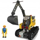 Iron 816J-1A  Electronic Excavator,  DIY Toy, Educational Toy, Electronic Toy,Building Block Toy