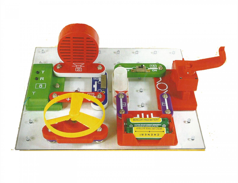 W-2289 DIY Snap On Circuit , Electronic blocks Kit.  Electronic educational Kit�