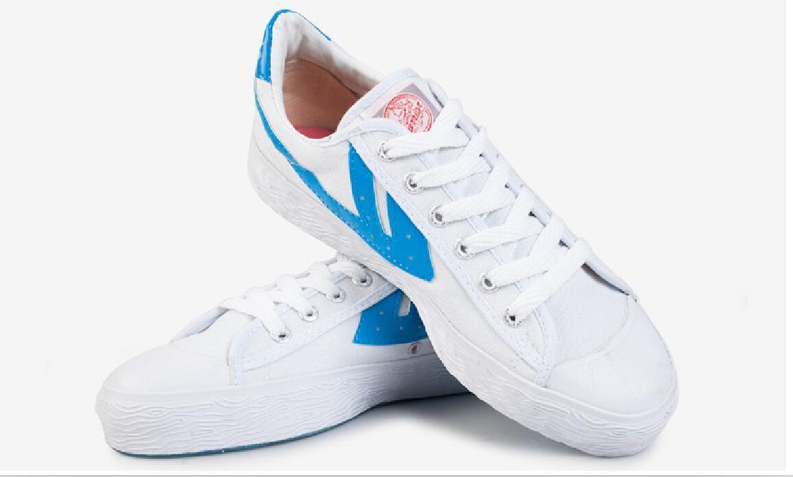 Warrior Bai-classic Wushu KungFu Shoes Sneakers Canvas/Martial Shoes Size Eur 35