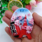 3D Resin World Tourism Souvenir Fridge Magnet - iron tower Japan