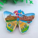 3D Resin World Tourism Souvenir Fridge Magnet