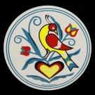 "Good Luck Distelfink Bird 8"" Barn Hex Sign German Amish Folk Art"