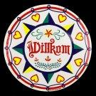 "Welcome Willkum Star 16"" Barn Hex Sign German Dutch Amish Folk Art"