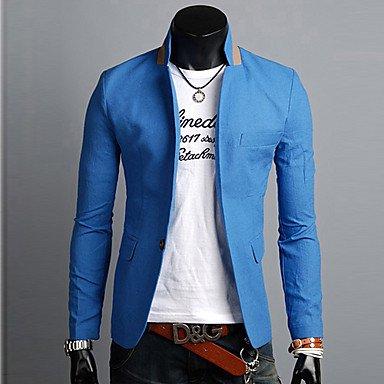 Maimi Men's Long Sleeve Regular Blazer , Linen Pure #04107520