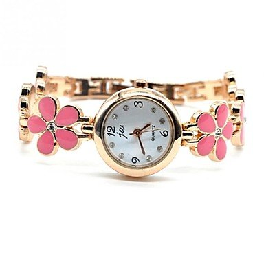 Women�s Watch Flower Bracelet Alloy Band Cool Watches Unique Watches #00446369