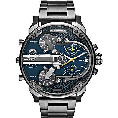 Men�s Fashion Military Watch Multi Movement Quartz Steel Watch Cool Watch