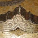 Moroccan Silver Box -Vintage Silver Box -Etched Silver Box -Engraved Silver Box
