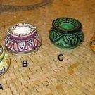 Moroccan Ashtrays- Moroccan Ceramic Ashtray - Ceramic Ashtray with lid - Ashtray