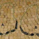 Emerald necklace - Emerald green necklace -Emerald necklace pendant - Emerald