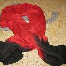 Long red scarf - Unisex Red Scarf - Red Scarf - Red Scarves - Red Scarf men