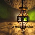 Moroccan ceiling light - Hanging hanging Lamp - Lantern Moroccan -Moroccan light