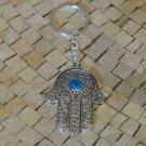 Hamsa - Hamsa Hand ring - Hamsa hand charm - Hamsa keychain- Hamsa key chain