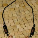 Moroccan Black and Brown beads Necklace - Short Necklace from Morocco-Necklace